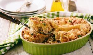 Chicken-and-Vegetable-Strata