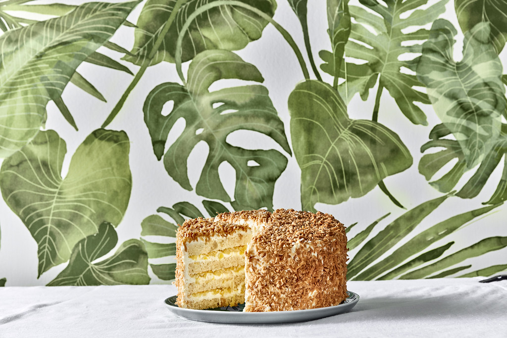 Tommy Bahama Pina Colada Cake, Legacy West, Plano, holiday gift