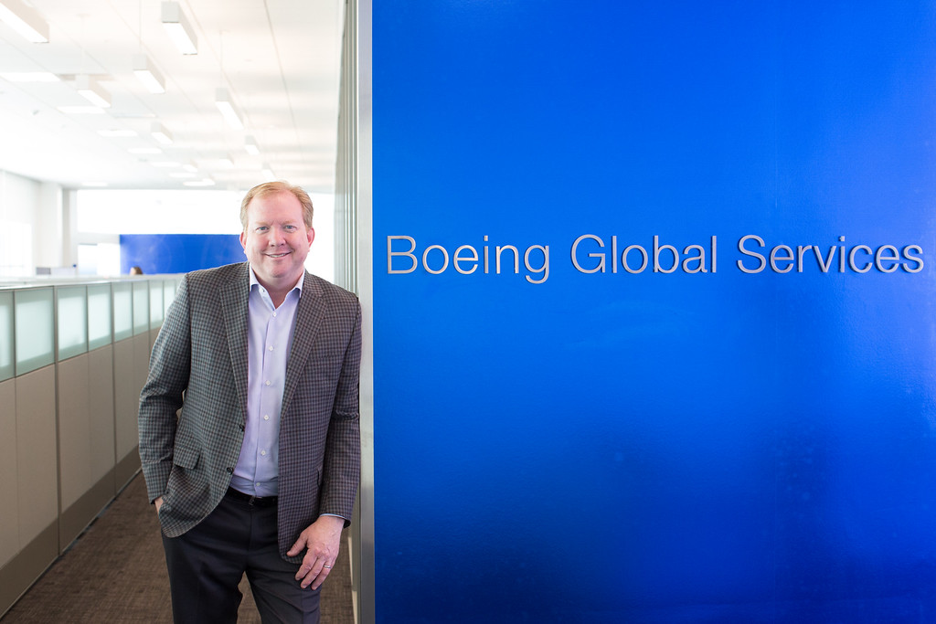Stan Deal Boeing Global Services, Legacy West, Plano