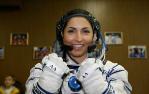 Anousheh Ansari, Space Explorer, Speaks at Haggard Library, plano