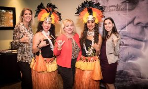 Roy's restaurant, plano, plano profile, cover party, hula dancers, hawaii