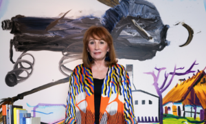 art consultant Sharon Leeber, dallas, plano, richardons, cityline, art
