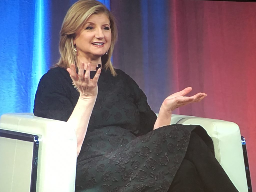 Arianna Huffington women in business collin county business council