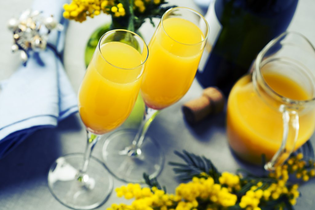 Mimosa New year's eve