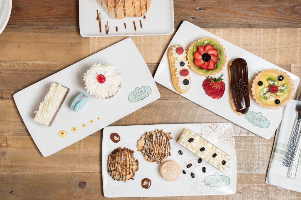 Edith's French Bistro, cakes, patisserie, dallas, plano, the boardwalk at granite park