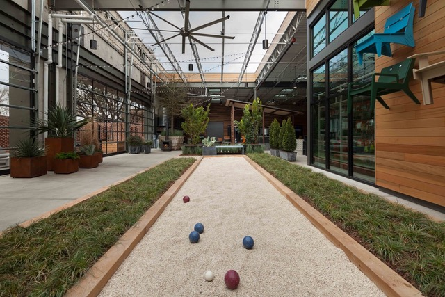 Bocce Ball court at TreeHouse, Plano, home upgrades, renovations