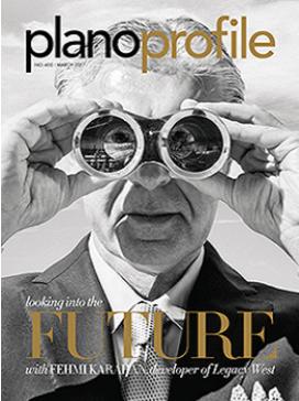 Fehmi Karahan, Plano Profile magazine, cover