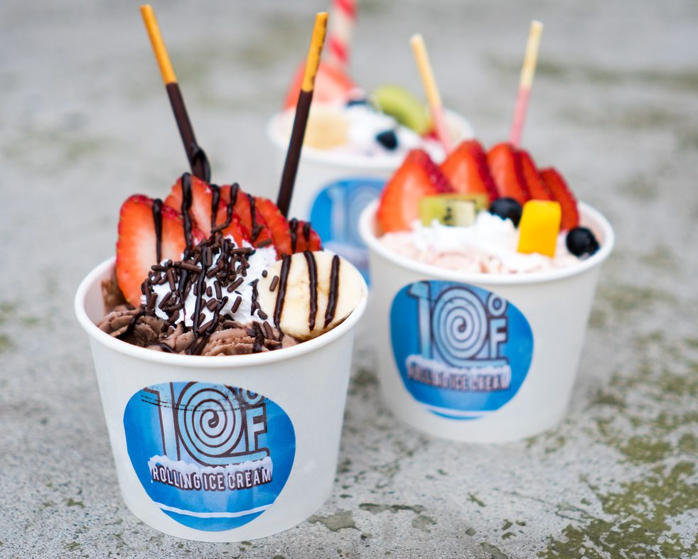 Food, Plano, Dining Out, Texas, 10 ⁰F Rolling Ice Cream, The Shops at Willow Bend, Plano