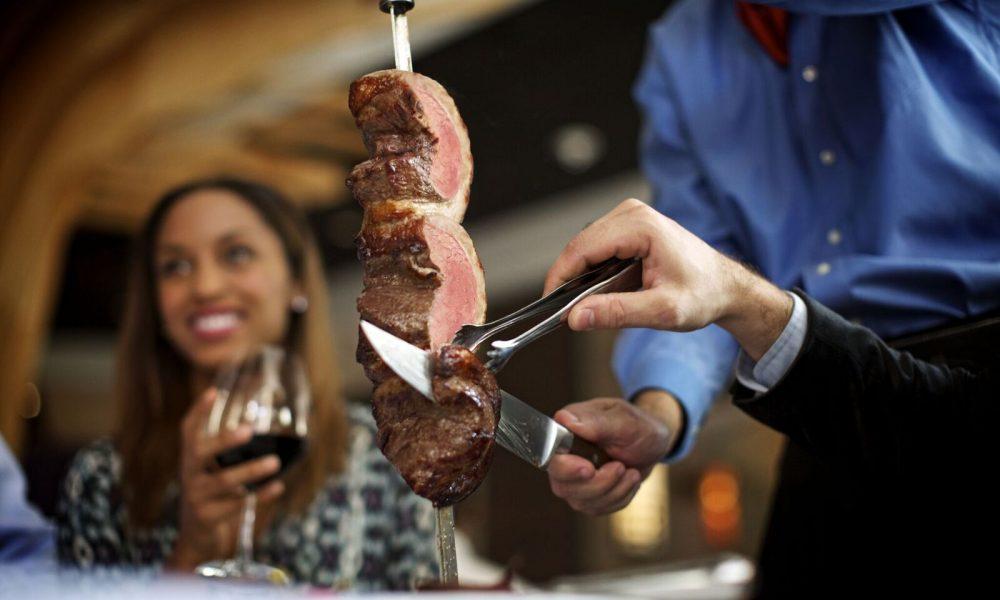 Fogo de Chao, Brazilian steakhouse,
