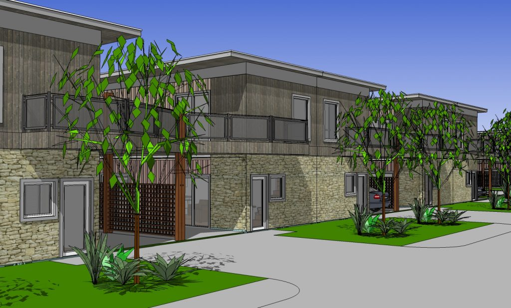 Cotton Groves, McKinney, Texas., storage container homes, community, affordable housing, shipping containers