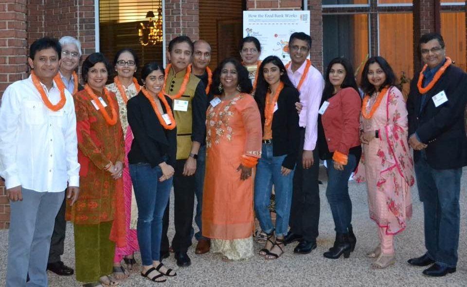 Indo-American Council for North Texas Food Bank, Raj and Anna Asava