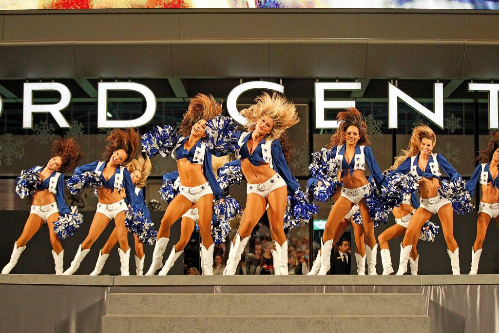 The Star in Frisco, Dallas Cowboys Cheerleaders