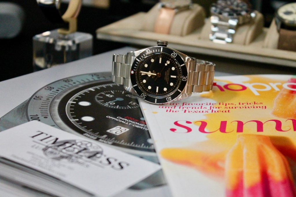 Sip & Shop pop-Up TreeHouse Plano, Plano Profile, Timeless Luxury Watches, Legacy West, Tudor watch