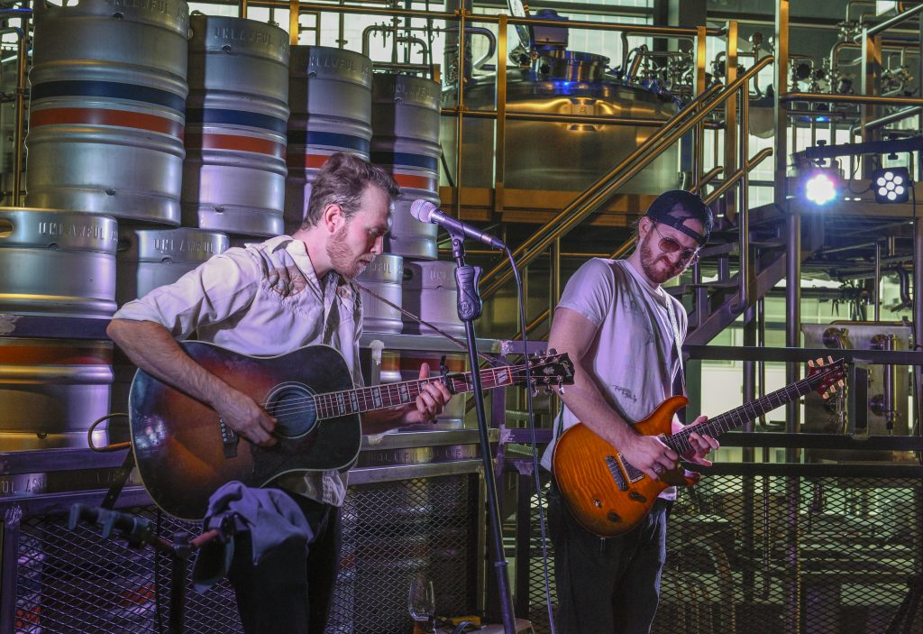 Legacy West, Legacy Hall, Plano, Unlawful Brewing co brewery, live music
