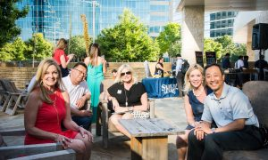 Hilton/Dallas Plano Granite Park hotel, plano profile magazine cover party