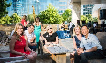 Hilton/Dallas Plano Granite Park hotel, plano profile magazine cover party