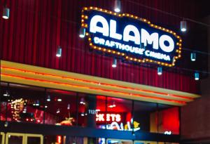 Alamo Drafthouse Cinema, frisco, texas