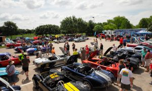 Shelby Car Show at LegeacyTexas Bank, Plano