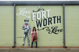 Day in Fort Worth art murals public art Texas Plano Profile art walk The Kimbell Art Museum Modern Art Museum of Fort Worth Magnolia Ave
