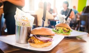 Liberty Burger, The Star, Frisco, Texas, The Wild West burger