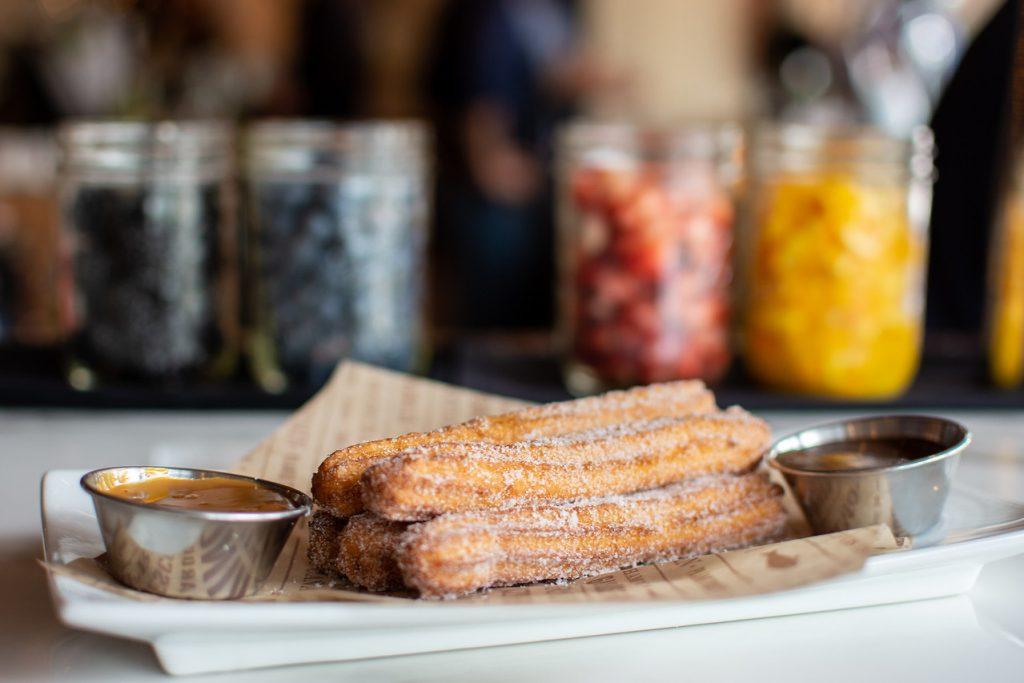 Gazpacho Andaluz, Legacy West, Bulla Gastrobar, Plano, spanish, tapas, churros
