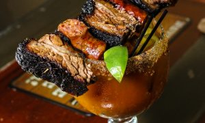 Burnt End Bloody Mary, Lockhart's Smokehouse, Downtown Plano