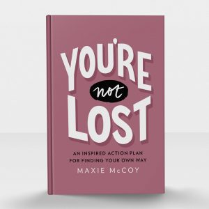 Maxie McCoy, book, author, female leadership, empowerment, you're not lost, plano profile, women in business