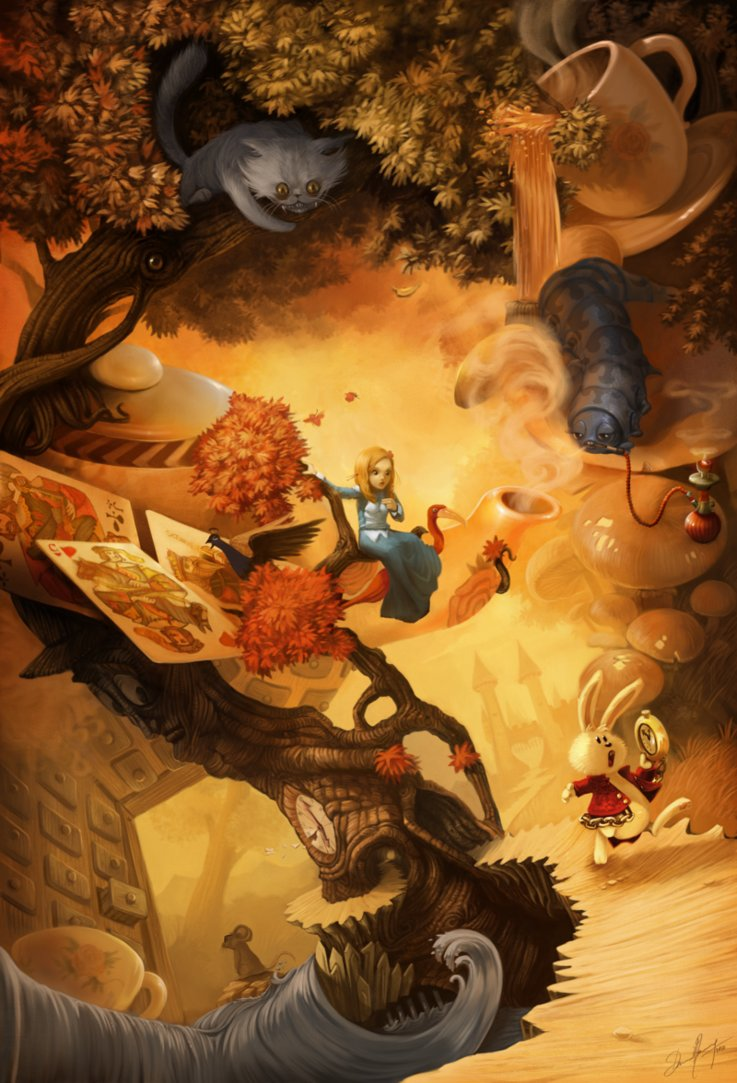 Alice in wonderland by deevad d4ize9l