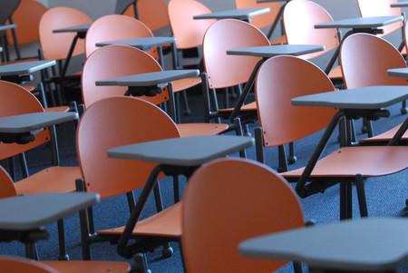 Photo of Empty Desks