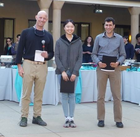 Tina Zhang Brewer Prize Winner