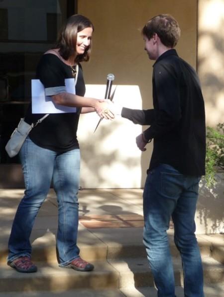 Will Overman with Elena Mantovan