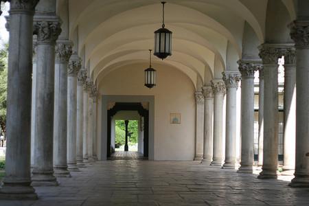 Caltech corridor
