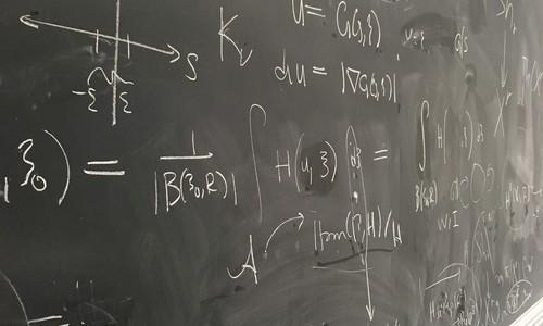 Math on a Chalkboard