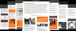 Newsletter Screenshots