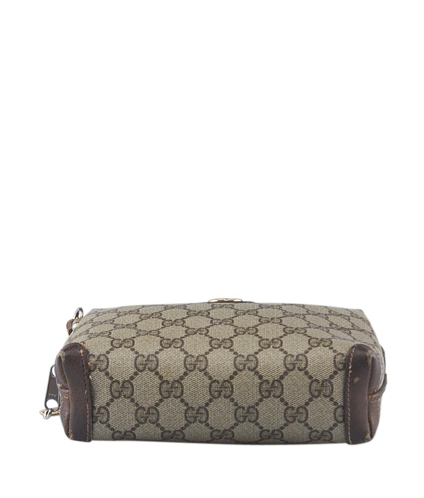 f0fe45b9647d Gucci Vintage Supreme Canvas Shoulder Bag | Stanford Center for ...