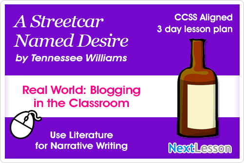 A Streetcar Named Desire Blog Writing