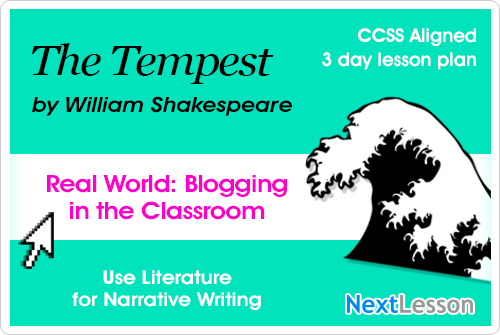 The Tempest Blog Writing