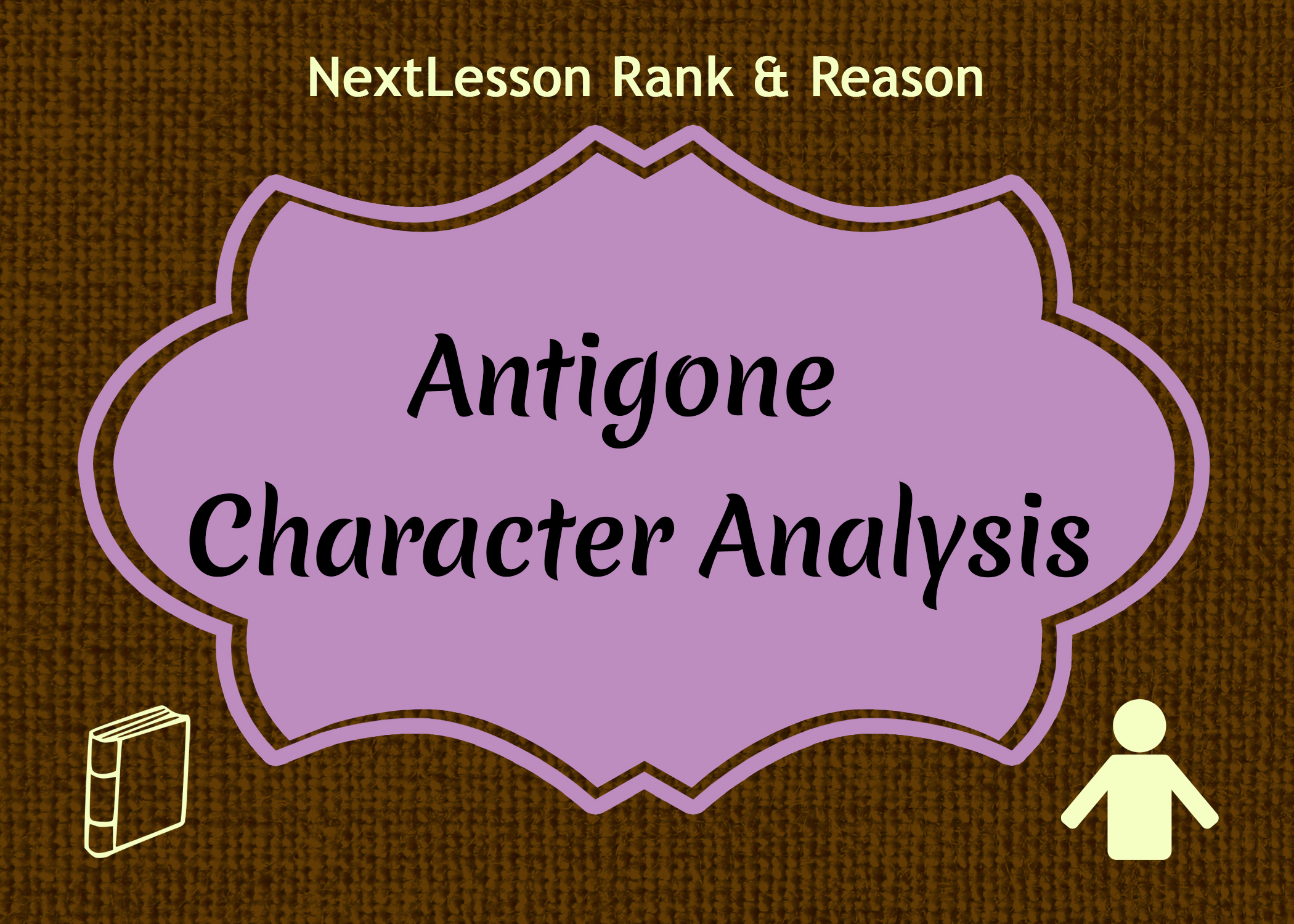 the strong character of antigone Quick answer an example of a metaphor in the prologue of antigone is when the character ismene says, the law is strong, we must give in to the law/in this thing, and in worse the law in this case is a metaphor for the new ruler of thebes, creon.