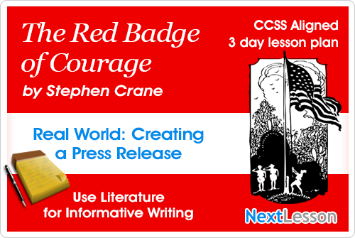 The Red Badge of Courage Press Release