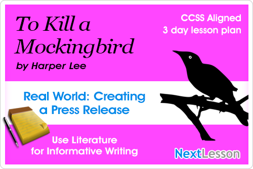 To Kill a Mockingbird Press Release