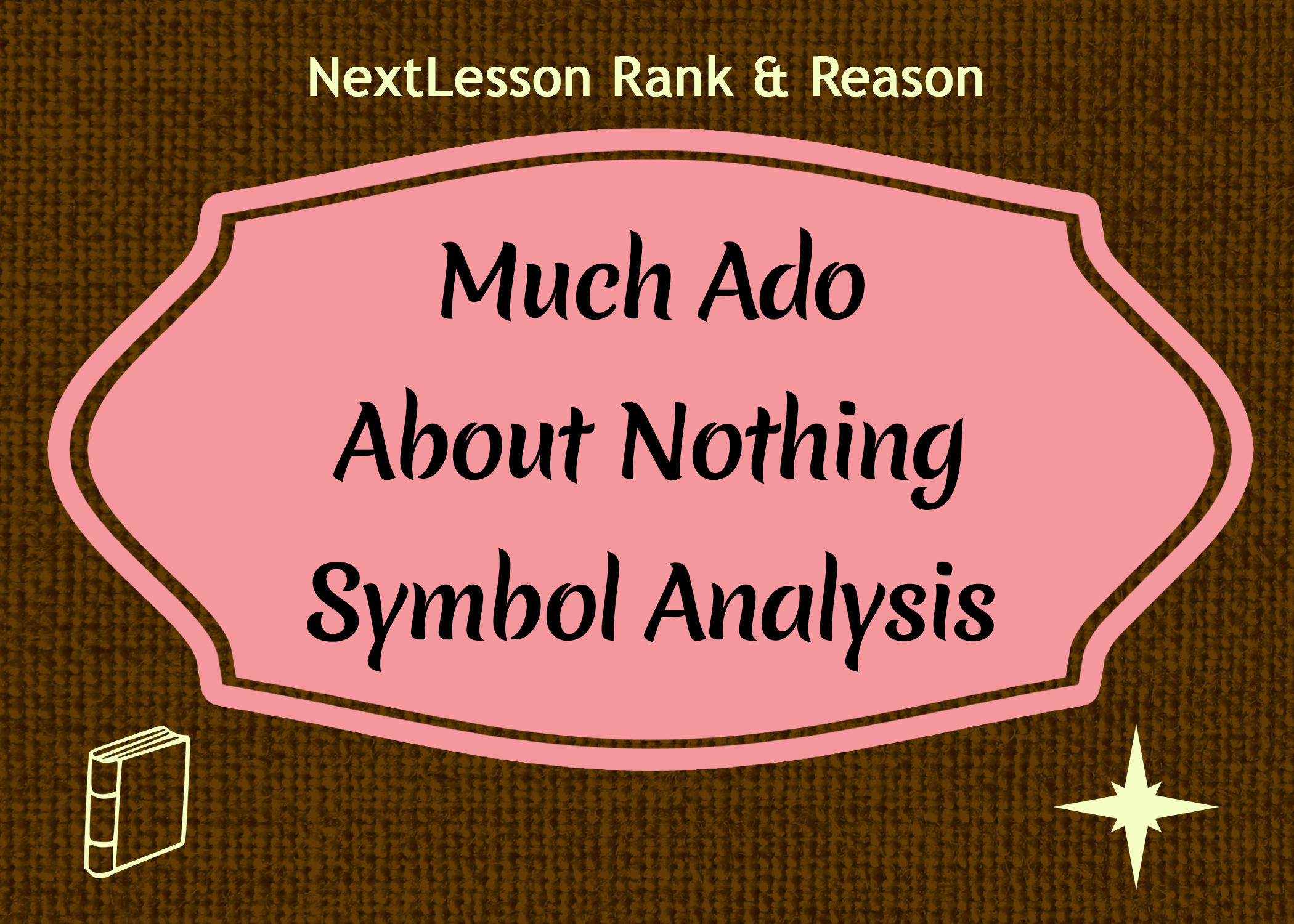 essay on much ado about nothing The following paper topics, each with a sample outline, are designed to test your understanding of much ado about nothing each deals with the play as a whole and requires analysis of important themes and literary devices.