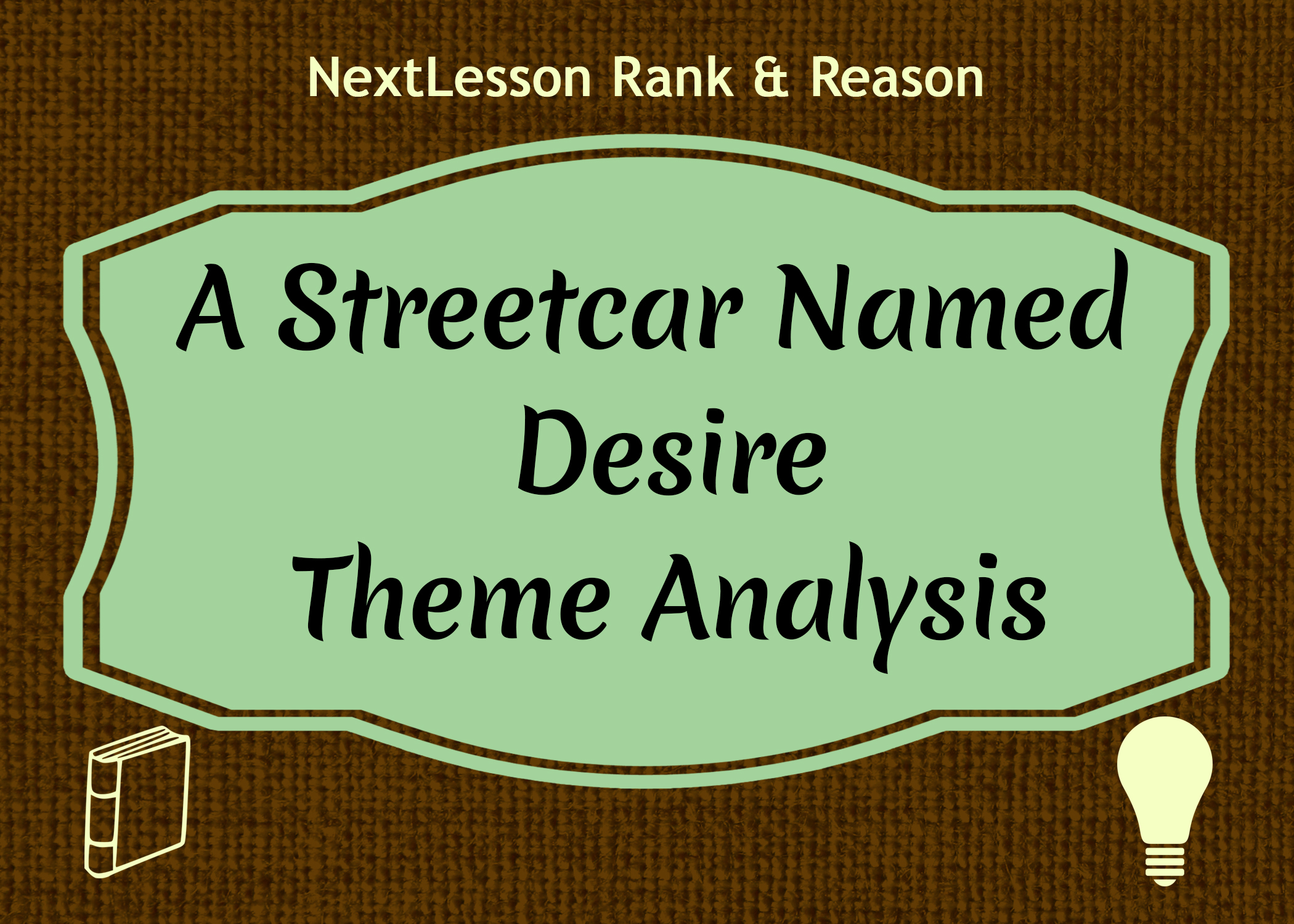 coursework questions streetcar named desire Free essays from bartleby | illusions and fantasy in tennessee williams' a streetcar named desire 'a streetcar named desire', by tennessee williams, explores.