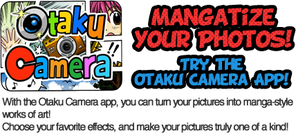 Otaku Camera - Mangatize your photos!