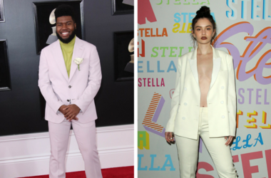 Khalid arrives at the 60th Annual Grammy Awards at Madison Square Garden / Sabrina Claudio. Stella McCartney Autumn 2018 Presentation held at S.I.R. Studios in Los Angeles.