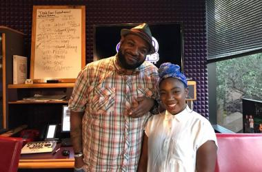 Big Ced & Sydney Chantel in Studio