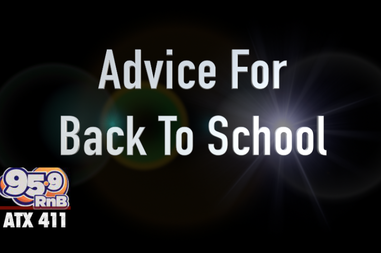 What's your best 'Back To School' advice?