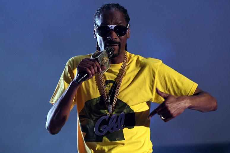 Snoop Dogg performs at the SunFest Music Festival.