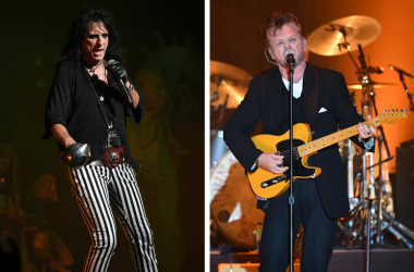 Alice Cooper and John Mellencamp