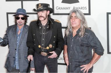 Members of the band Motorhead arrive at the 57th Annual Grammy Awards held at Staples Center at L.A.