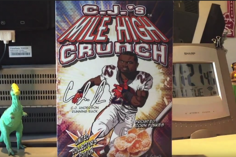 C.J.'s Mile High Crunch